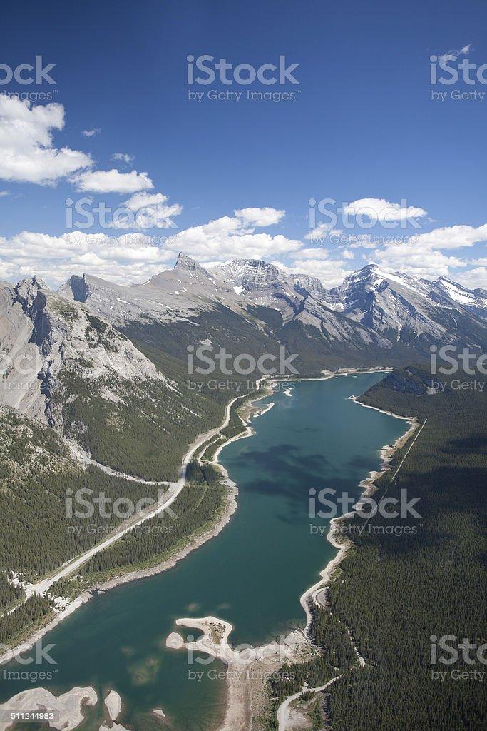 Spray Lakes stock photo