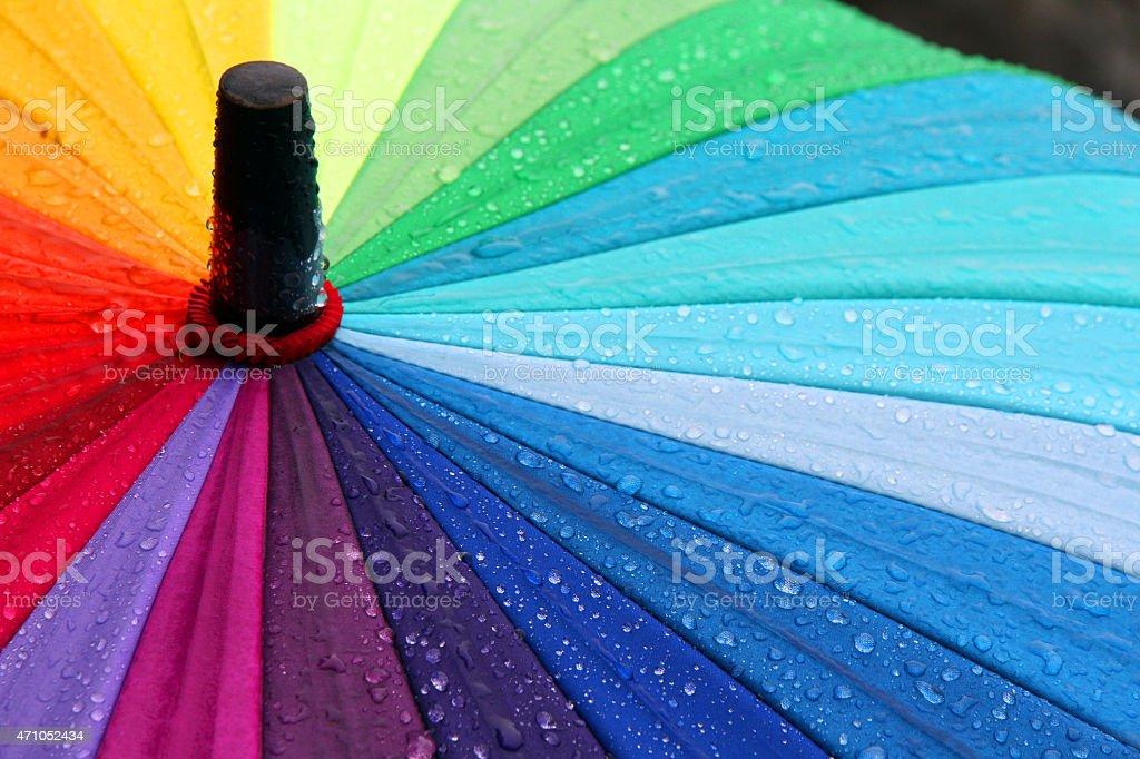 Spray of Rain stock photo
