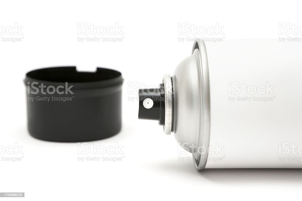 Spray Paint Can stock photo
