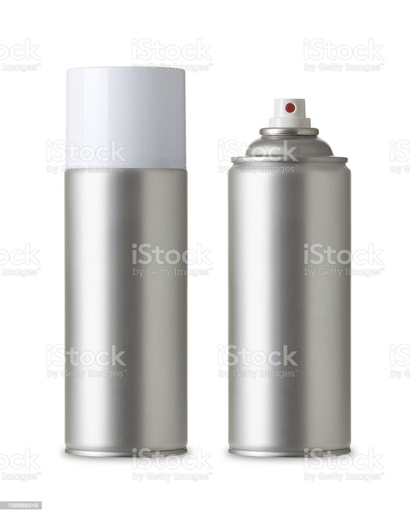 Spray Paint Can, Realistic photo image royalty-free stock photo
