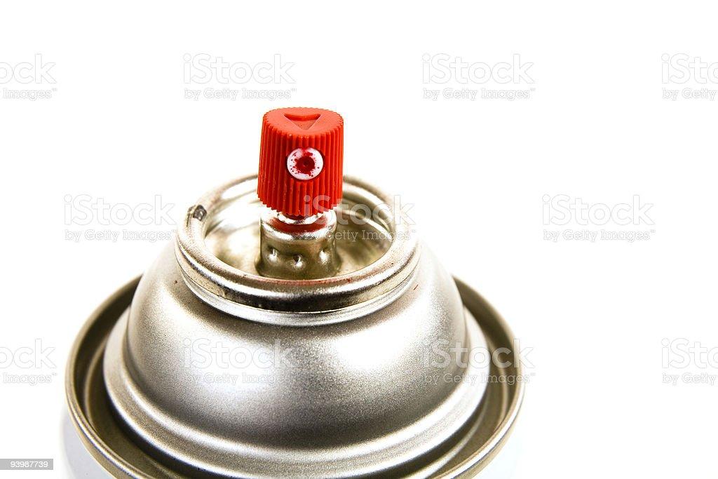 Spray paint nozzle royalty-free stock photo