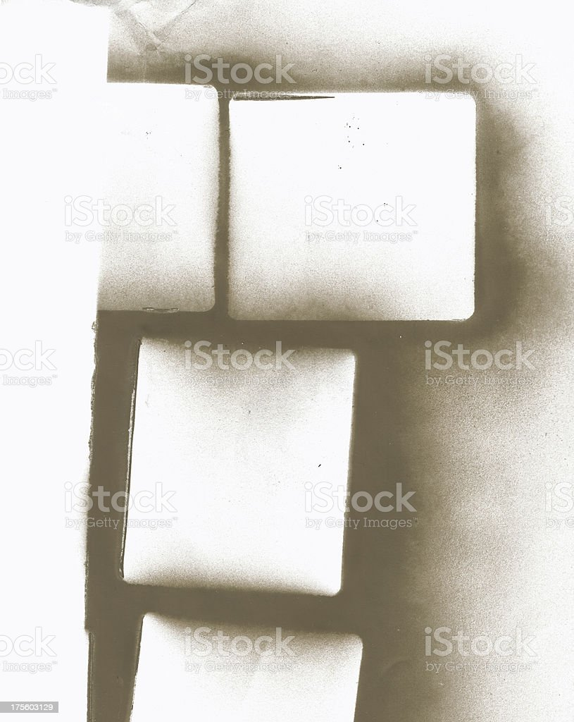 Spray painted paper royalty-free stock photo
