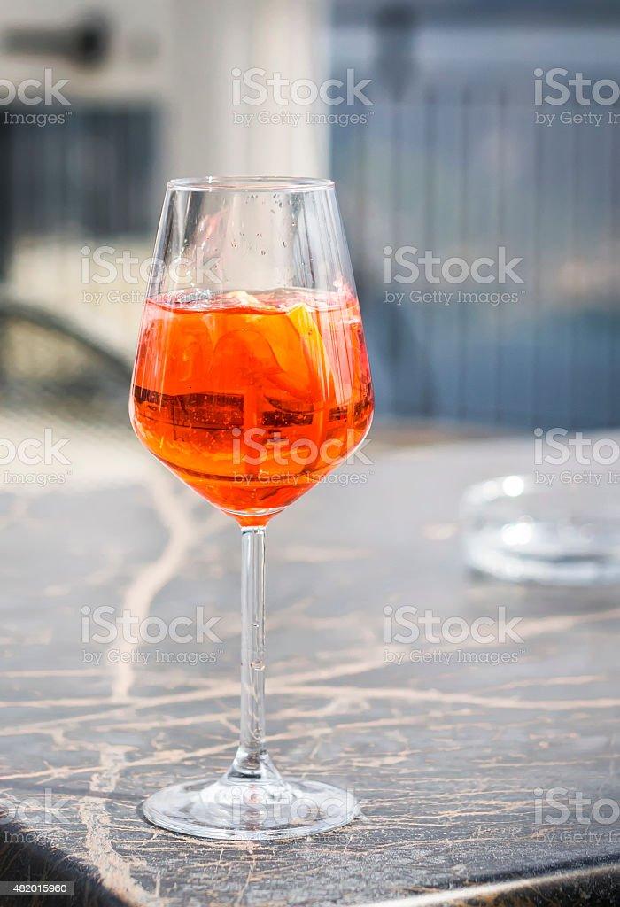 aperol spritz stock photo