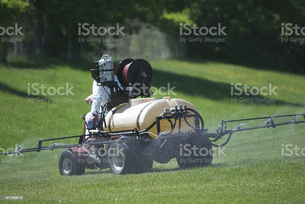 Spray rig royalty-free stock photo