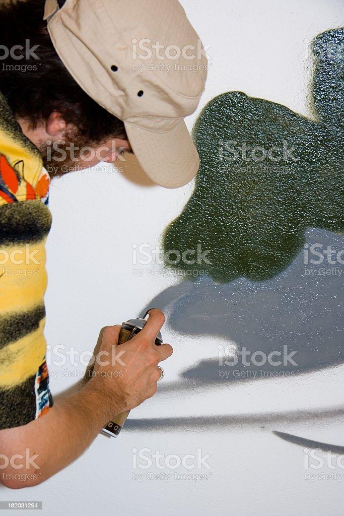 Sprayer Dude stock photo
