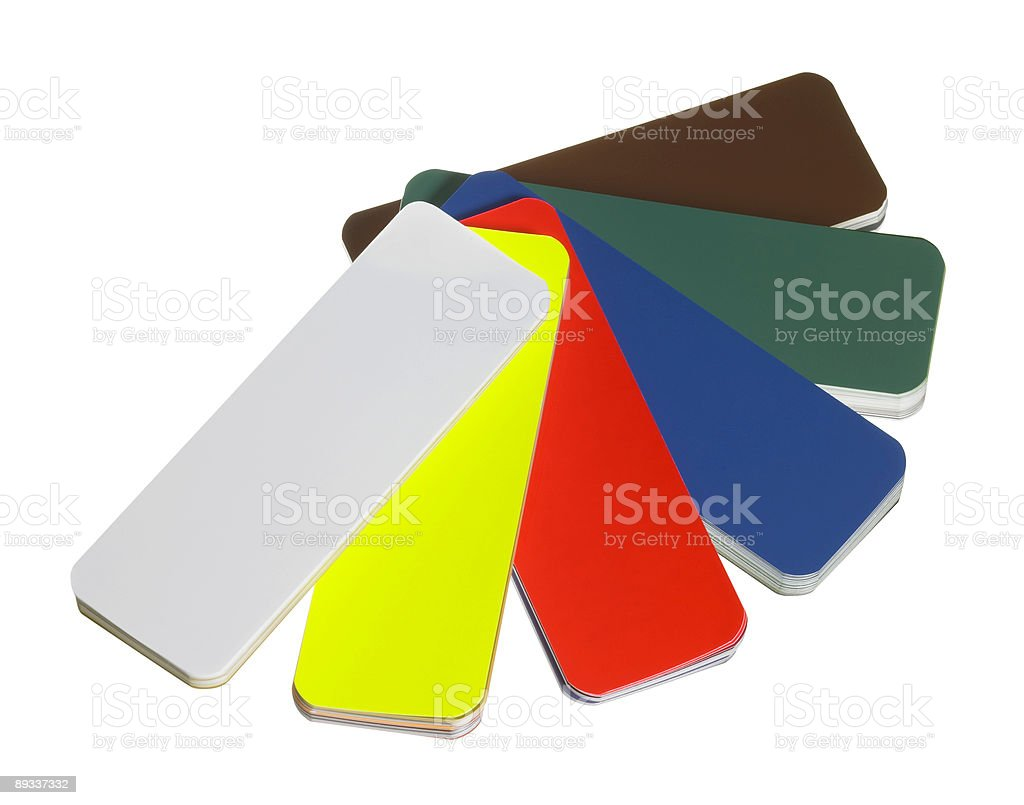 spread color chart royalty-free stock photo