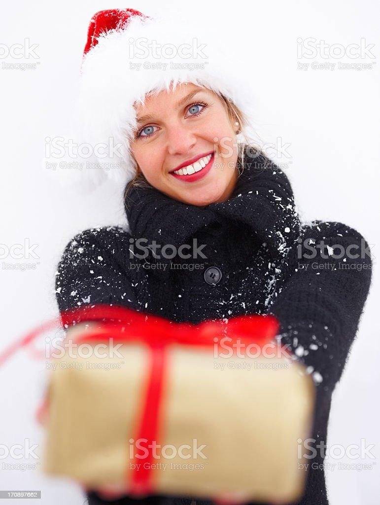 Spreading some festive joy  royalty-free stock photo