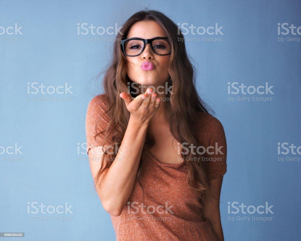 Spreading the love stock photo