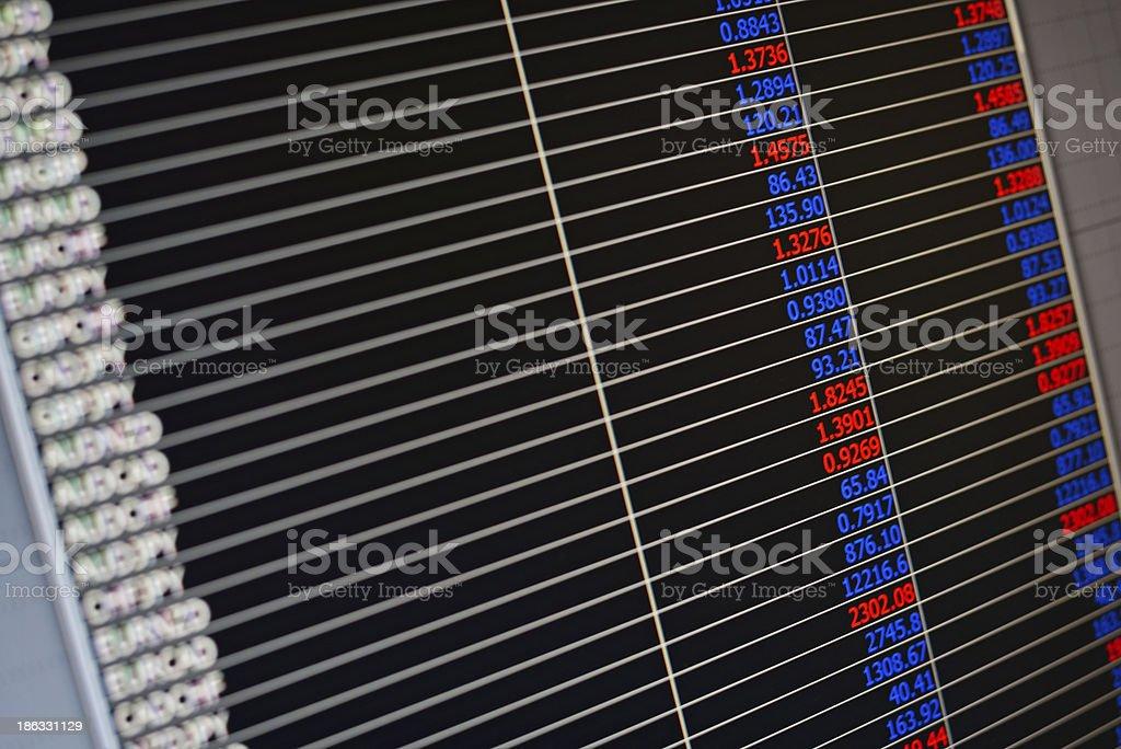 Spreadsheet background royalty-free stock photo