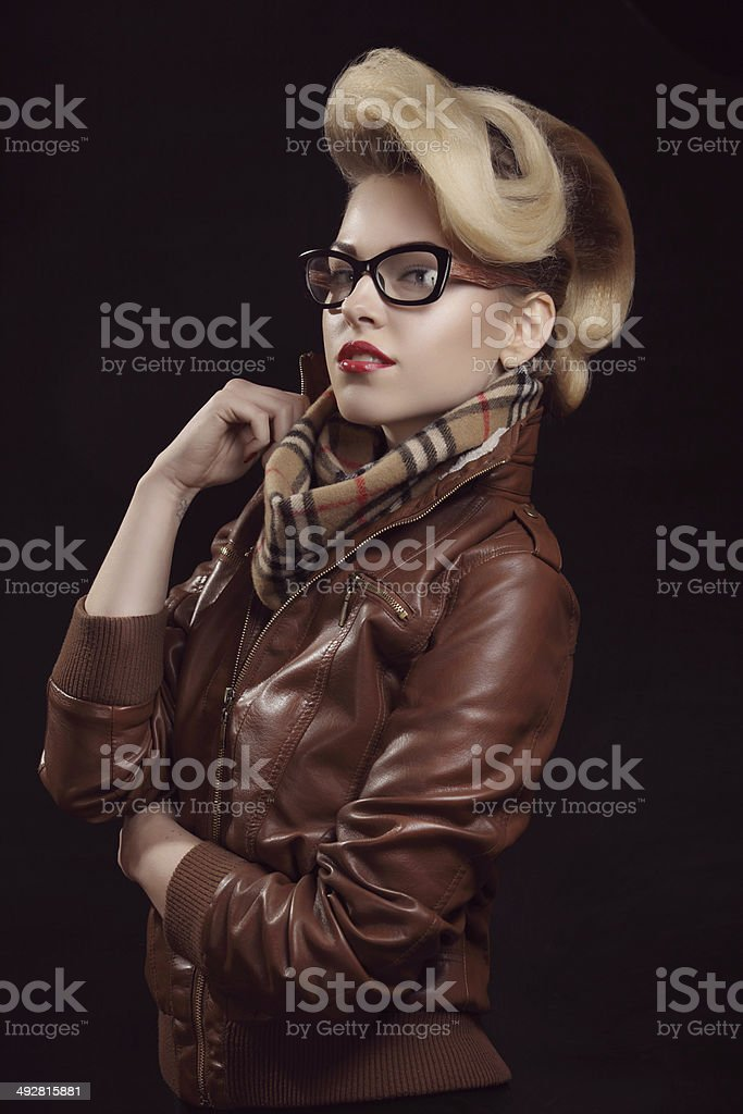 Spring and autumn style stock photo