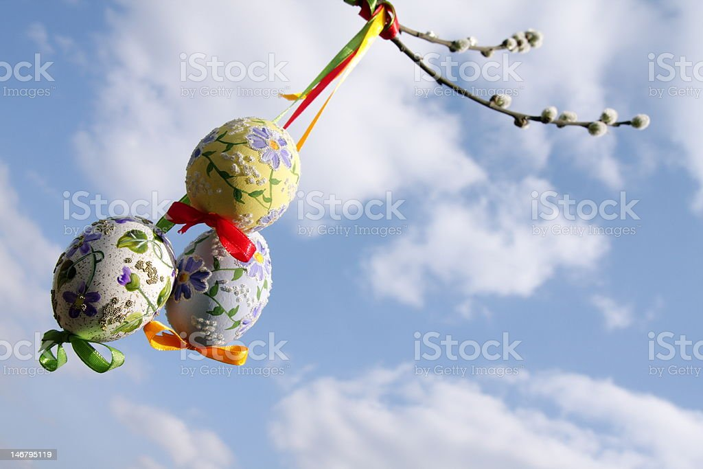 Spring and Easter royalty-free stock photo