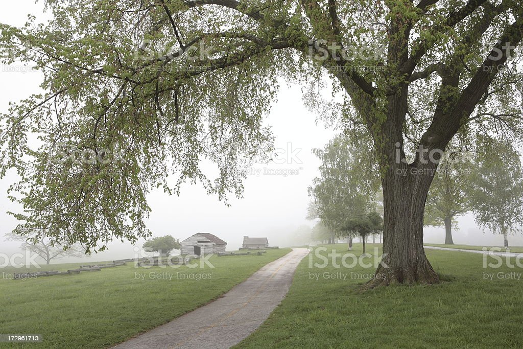 Spring at Valley Forge stock photo