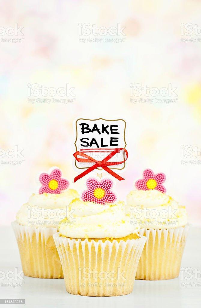 Spring Bake Sale stock photo
