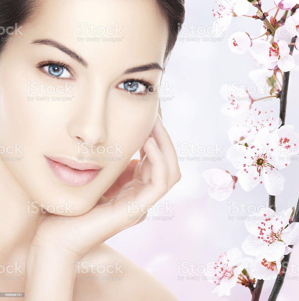 Spring beauty. royalty-free stock photo