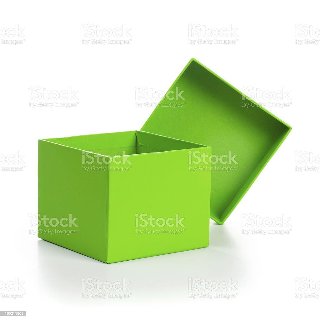 Spring Box stock photo