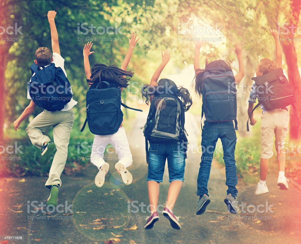 Spring break! stock photo