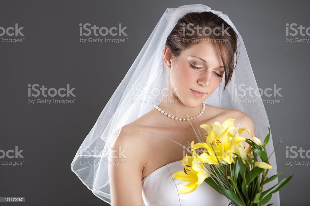 Spring Bride royalty-free stock photo
