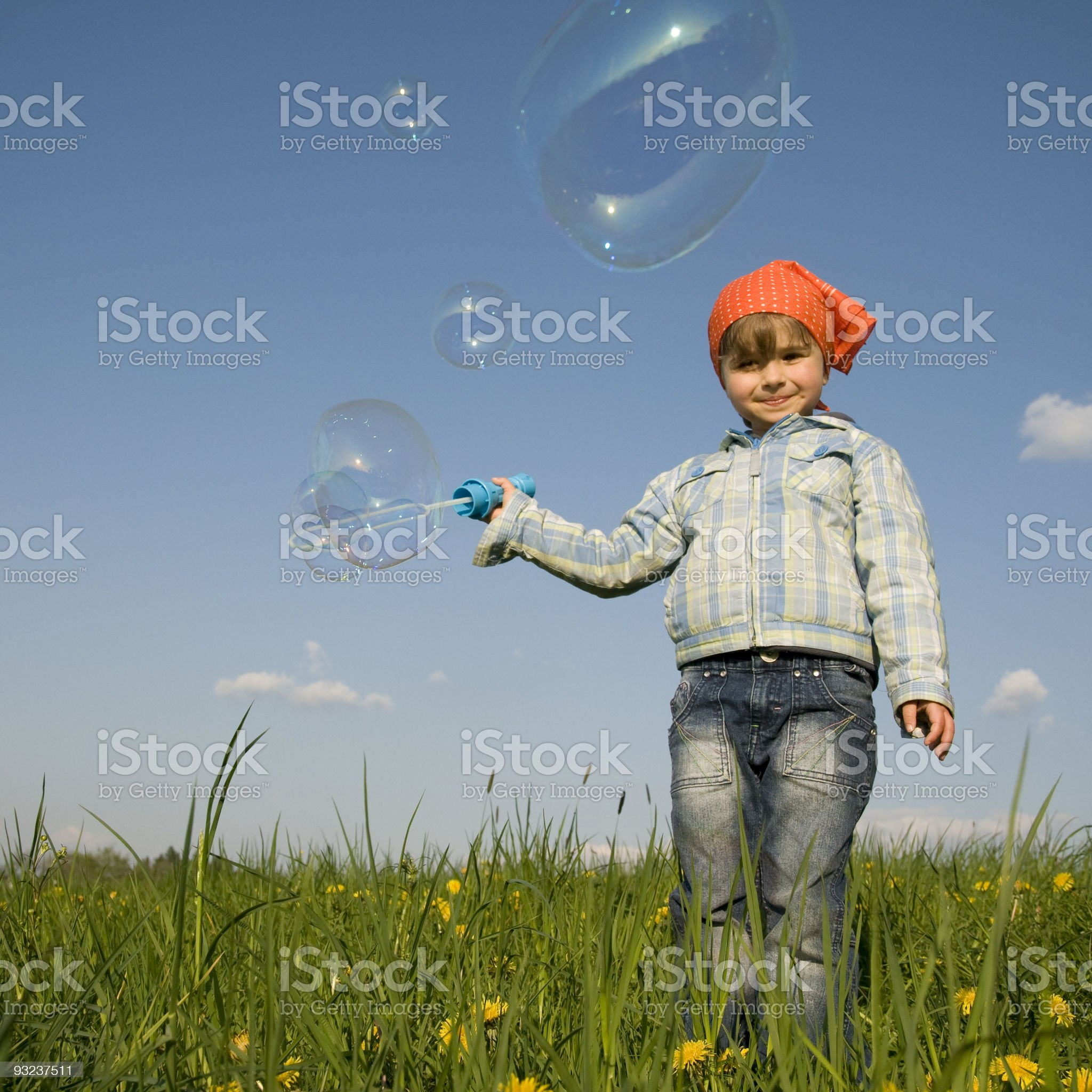 Spring bubbles royalty-free stock photo