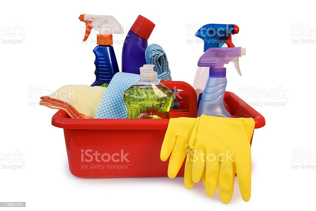 Spring Cleaning royalty-free stock photo