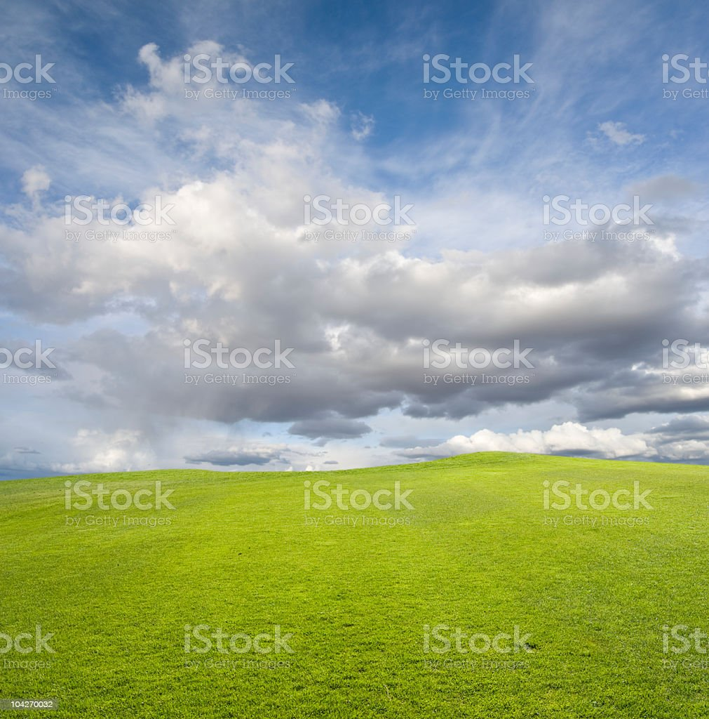 Spring Cloudscape royalty-free stock photo