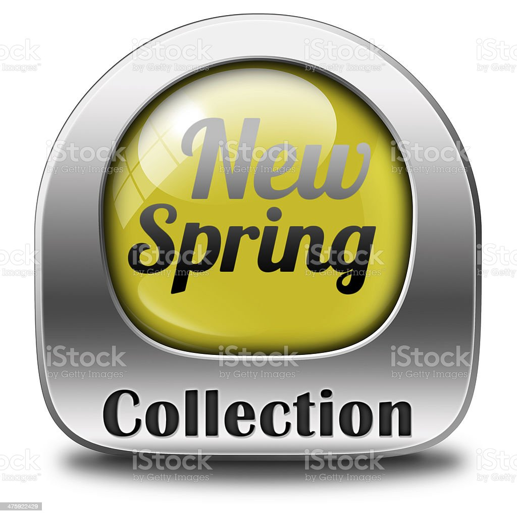 spring collection stock photo