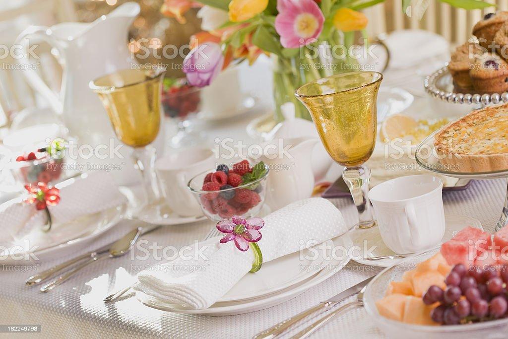Spring Dining Series royalty-free stock photo