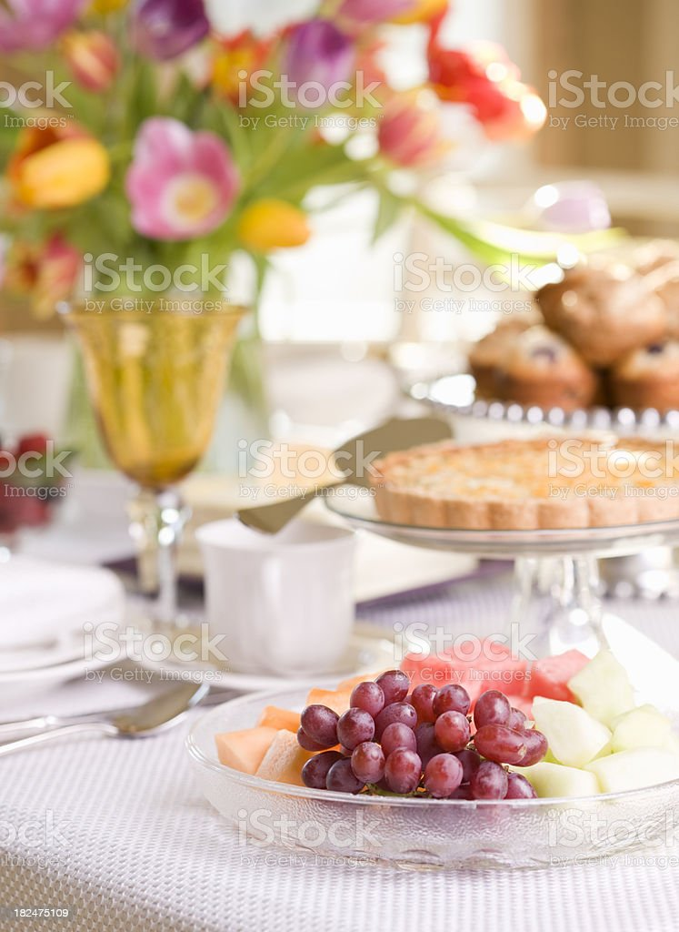 Spring Dining Series royalty-free stock photo