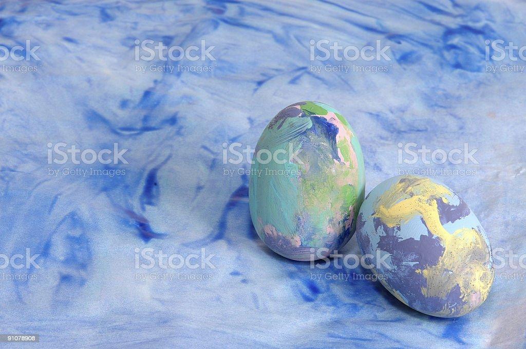 Spring Eggs stock photo
