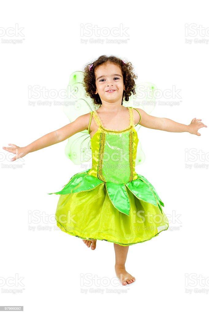 Spring Fairy royalty-free stock photo