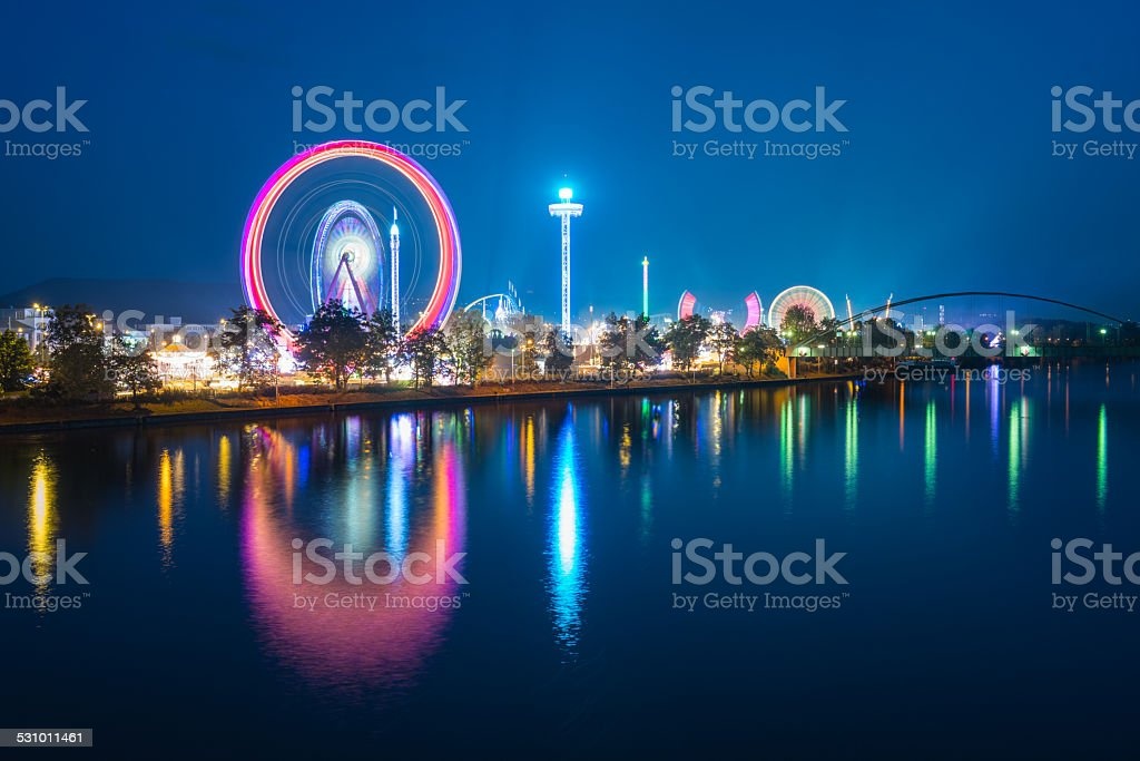 Spring Festival Stuttgart - Germany stock photo