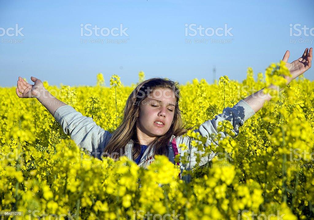 Spring freedom royalty-free stock photo
