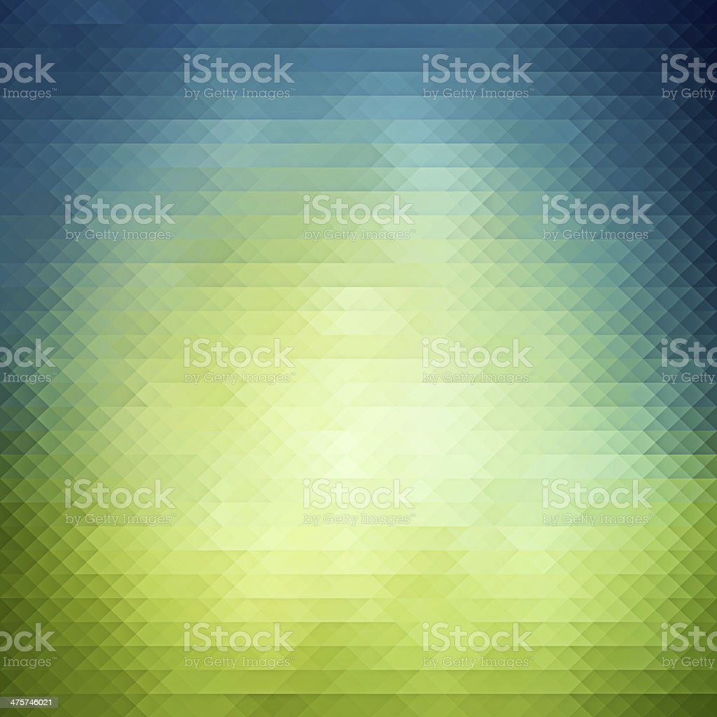 Spring geometric background stock photo