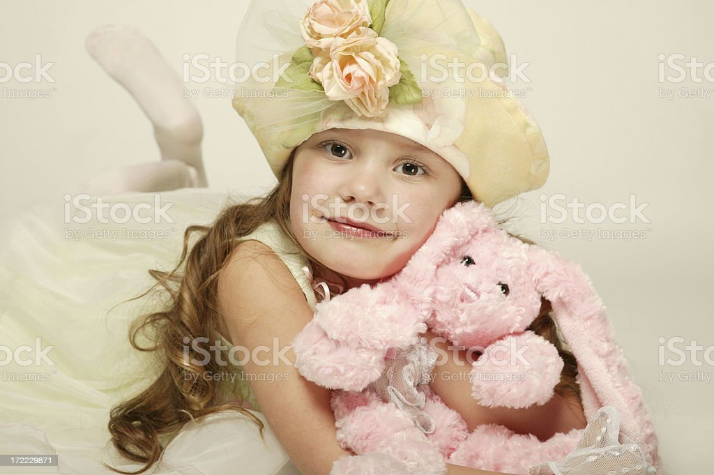 Spring Girl 0116 royalty-free stock photo