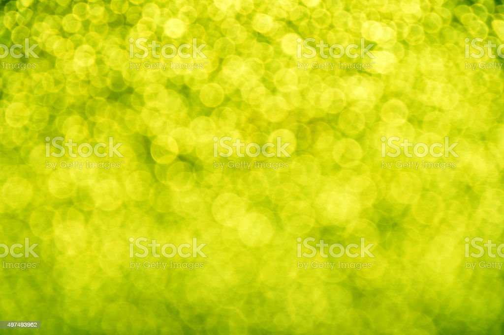 Spring glitter fresh green light abstract blur background royalty-free stock photo