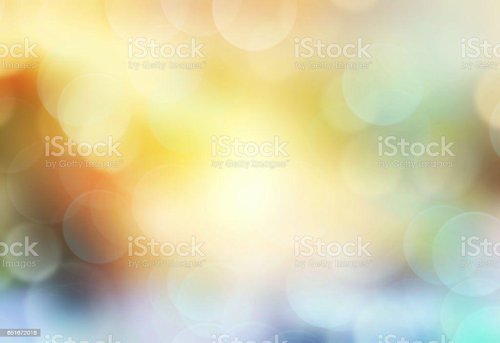 Spring green yellow blur background.Sunset wallpaper. stock photo
