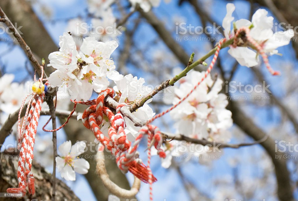 Spring holiday, Bulgaria stock photo