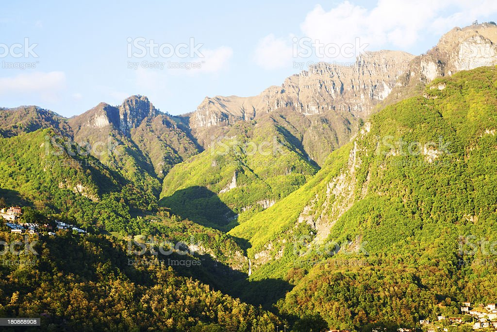 Spring in alps royalty-free stock photo