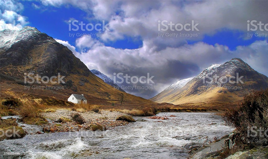 Spring in Glencoe royalty-free stock photo
