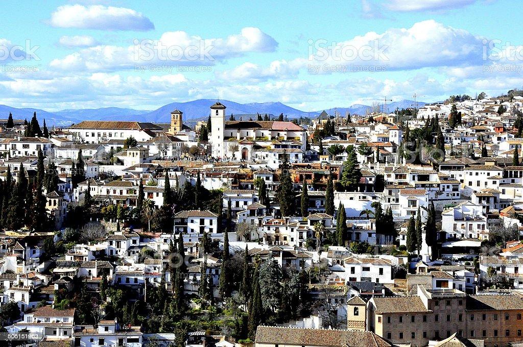 Spring in Granada - Spain stock photo