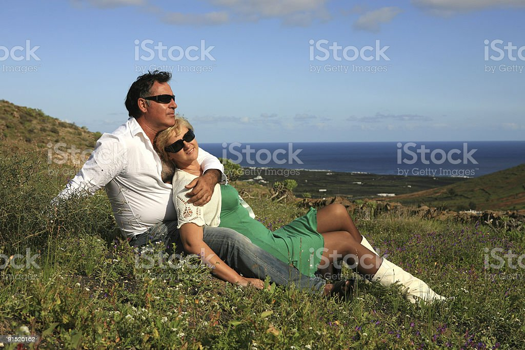 Spring in Lanzarote royalty-free stock photo