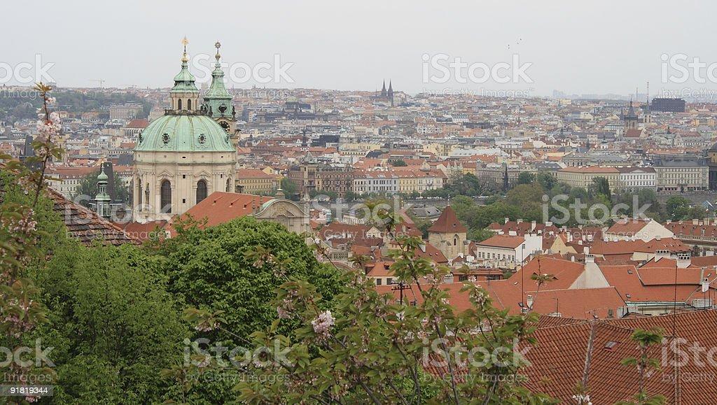 Spring in Prague royalty-free stock photo
