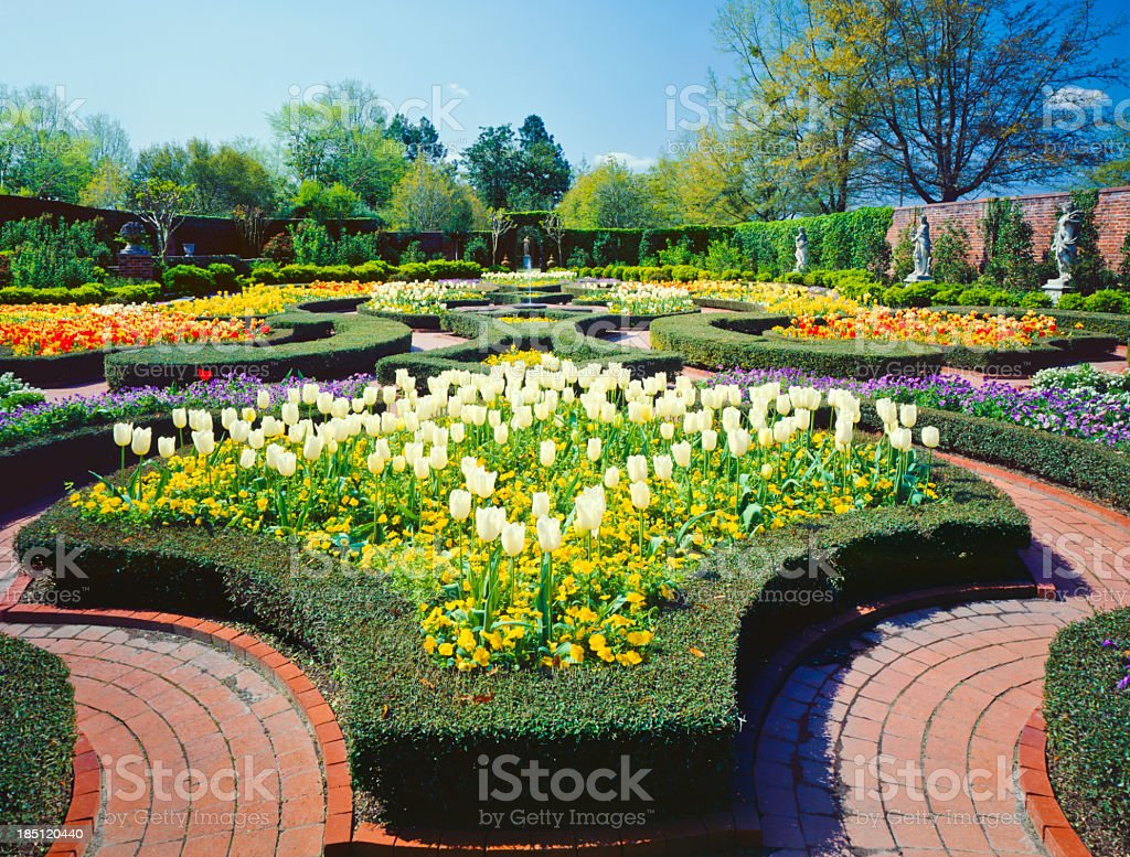 Spring in southern USA royalty-free stock photo