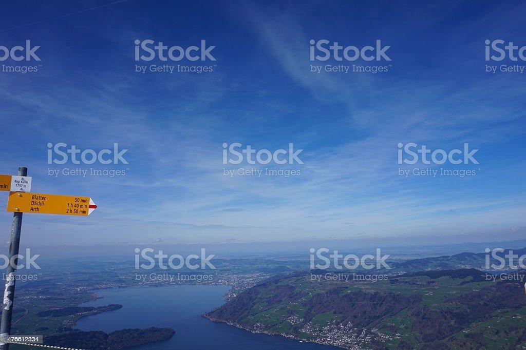 Spring in Switzerland stock photo