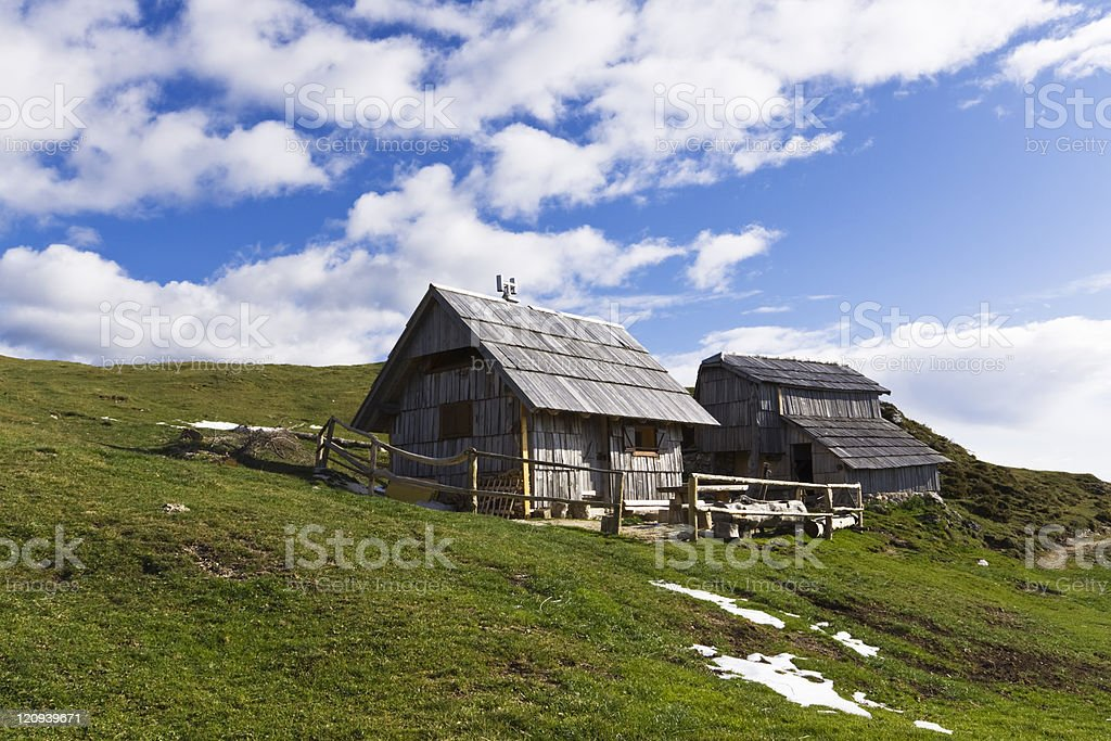 spring in the highlands royalty-free stock photo