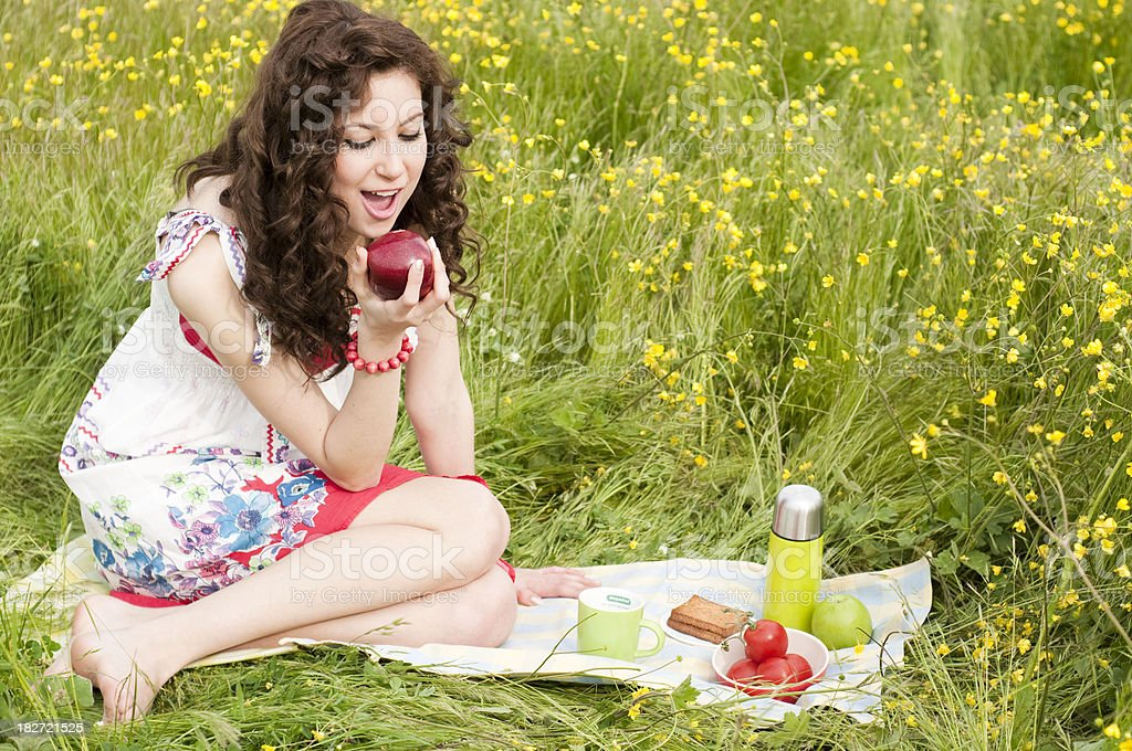 spring joy royalty-free stock photo