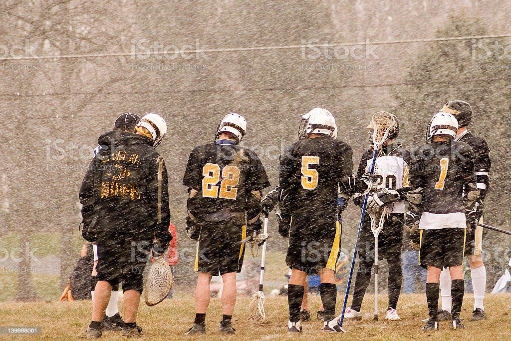 Spring Lacrosse? stock photo