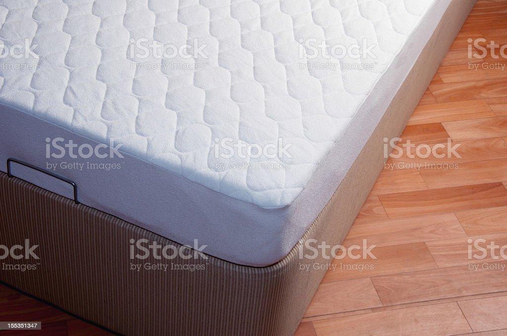 spring mattress stock photo