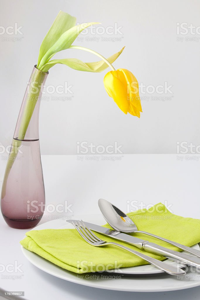 spring meal royalty-free stock photo