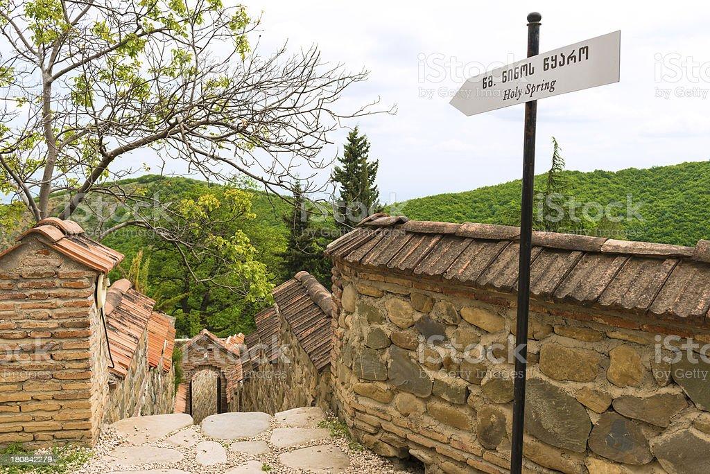 Spring of Saint Nino royalty-free stock photo