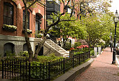 Spring on Beacon Hill